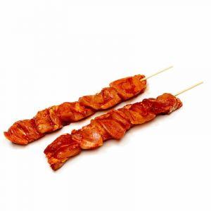 Pinchitos de pollo rojo