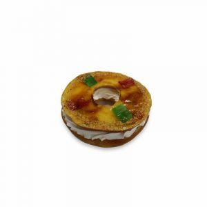 Mini rosco natacon cobertura de  yema tostada zampabollos 300gr