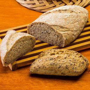 Pan precocinada centeno 70g