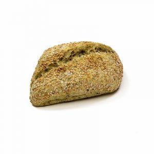 Pan precocinada fibra verde   70g