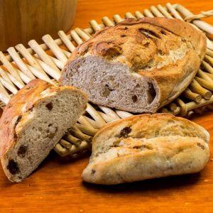 Pan precocido pasas y nueces 70g