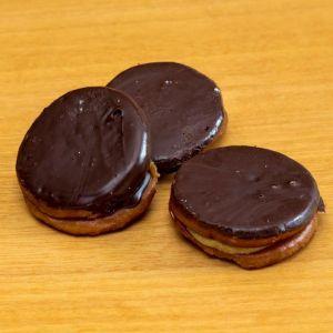 Galleta frita cubierta chocolate   kg