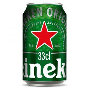 Cerveza heineken lata 33cl