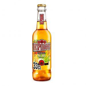 Cerveza desperados botella 33cl