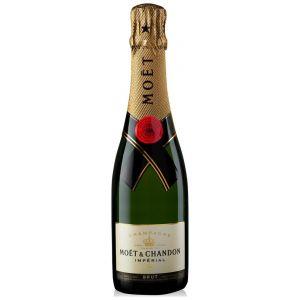 Champagne brut moet chandon botella de 37,5cl