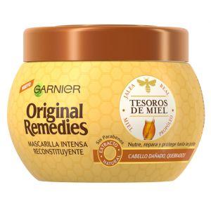 Mascarilla original remedies tesoros de miel garnier 300 ml