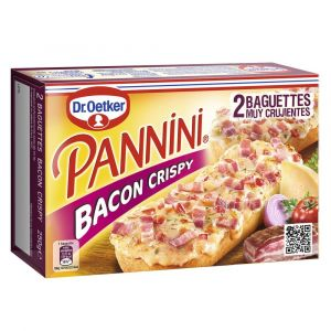 Pannini bacon crispy dr.oetker 250g