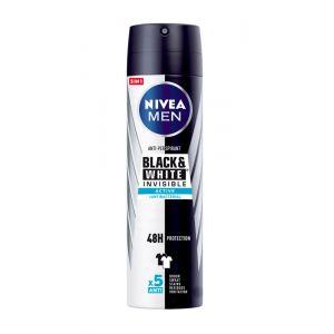Desodorante spray invisible men black y white nivea 200ml