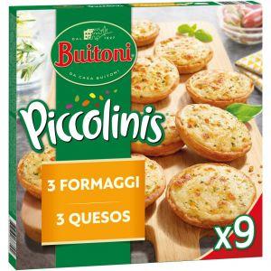 Piccolini 3 quesos buitoni 360g