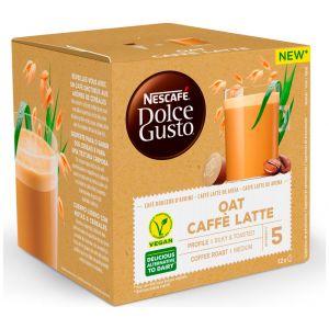 Cafe leche avena dolce gusto 12 cap