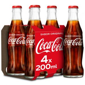 Refrsco cola coca cola p-4 20cl