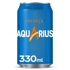 Bebida isot.  naranja aquarius lata 33cl