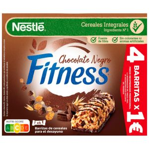 Barrita cereales chocolate fitness p4x23,gr