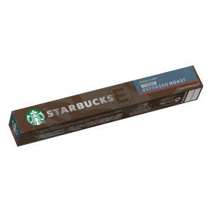 Café en cápsulas nespresso descafeinado espresso roast starbucks 57gr 10 cap
