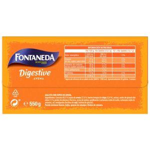 Galleta fontaneda digestive biscuit 550g