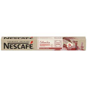 Cafe farmers origins colombia nescafe 10 cap