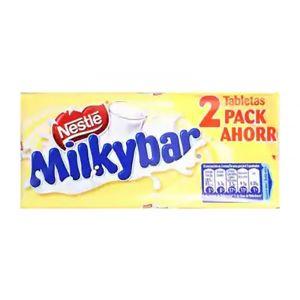 Chocolate blanco milkybar p2x100g