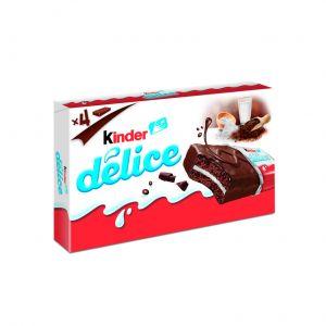 Bizcocho cacao kinder delice t4 156gr