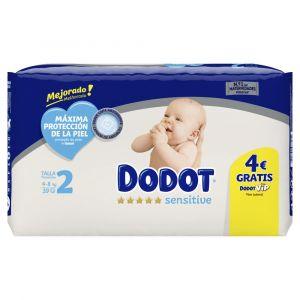 Pañal sensitive t2 dodot pack 39ud