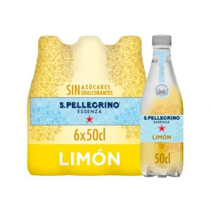 Agua c/gas limon san pellegrino pet 50cl