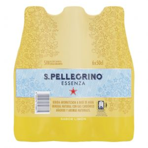 Agua c/gas limon san pellegrino pet 50cl