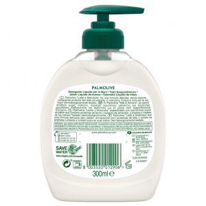 Jabón líquido de manos leche y almendras palmolive naturals 300ml