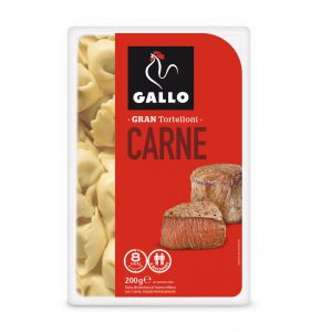 Pasta tortellini carne gallo 200g