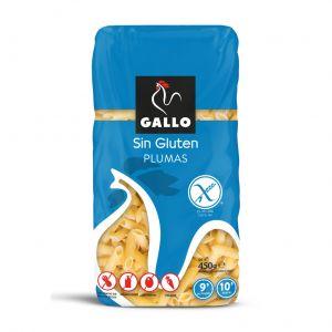 Pasta macarron sin gluten gallo 450g