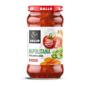 Salsa napolitana gallo tarro 350gr