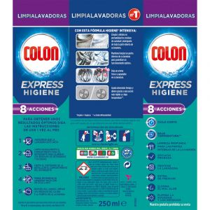 Limpiamáquina expres colon 250 ml