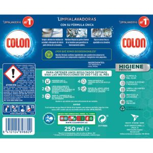 Limpialavadoras higiene colon 250ml