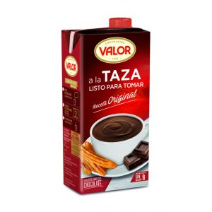 valor chocolate a la taza 1l