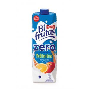Bi frutas zero mediterraneo pascual brick 1l