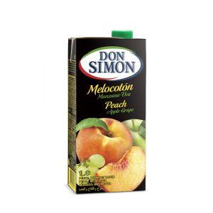 Zumo a partir de concentrado de melocoton-uva don simon brik 1l