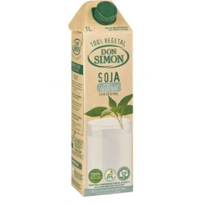 Don simon bebida de soja sabor natural 1l