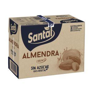 Bebida s/azu almendra santal brick 1l