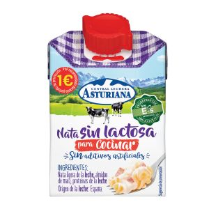 Nata cocina sin lactosa asturiana 200 ml