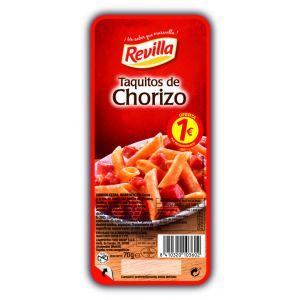 Taquitos chorizo revilla 70gr