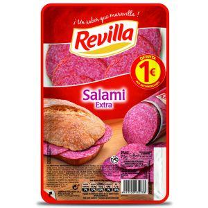 Salami extra revilla lonchas 70g 1euros