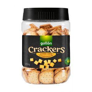 Galleta salada cracker cheddar bote 250g
