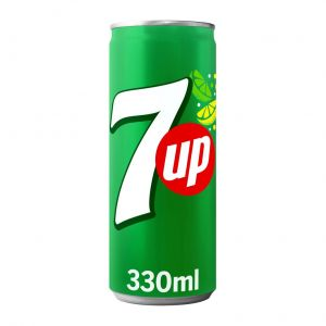 Refresco  lima-limon seven up lata sleek 33cl