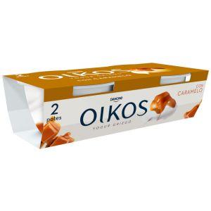 Yogur caramelo oikos p-2x110g