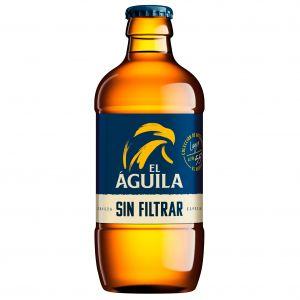 Cerveza sin filtrar aguila bot 33cl