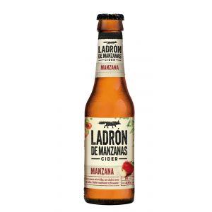 Cider sabor manzana ladron de manzanas botella de 25cl