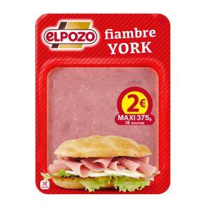 York sandwich el pozo lonchas maxi 375g