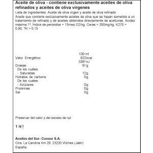 aceite de oliva intenso coosur 1l