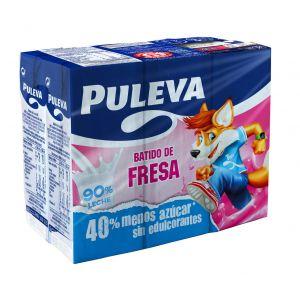 Batido fresa puleva p6x200ml