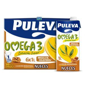 Leche omega3 nueces puleva brick 1l