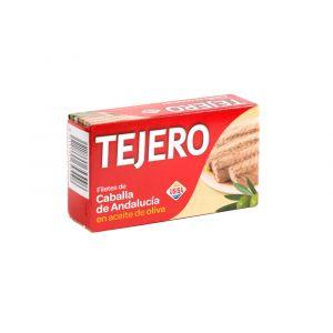 Caballa filete aceite de oliva tejero rr125 85g ne