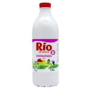 Leche desnatada rio botella 1,5l